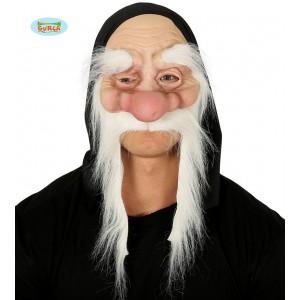 Maska skřítek s obočím a vousy