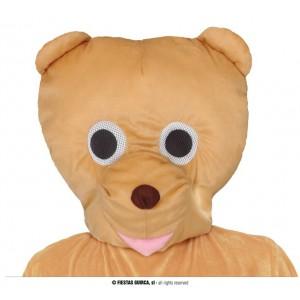 Maska medvědí hlava na masopust