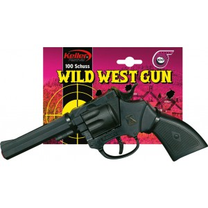Plastová pistole Rocky 100 ran